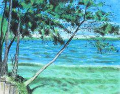 Lakeland 3 by Jeanne Fischer #lakeside, shoreline, waterscape