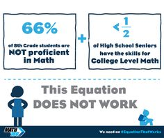 Are your students ready? We need an #EquationThatWorks. Click through to watch the video.