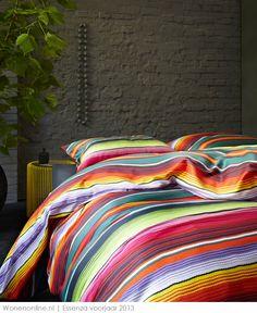 Laat je inspireren door de nieuwste collecties op het gebied van #bedtextiel van ESSENZA. We gaan kleurig het voorjaar tegemoet! #slaapkamer #woontrends #interieur