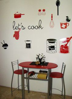 #cook  #walldecal #decals #viniles #vinil #kitchen #cocina
