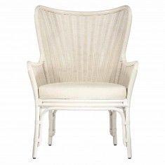 Sheridan Wing Chair-White