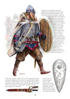 Warrior of Hardradas army