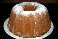 Picture of Recept - Karamelová bábovka Bunt Cakes, Czech Recipes, Cheesecake Brownies, Sweet Tooth, French Toast, Food And Drink, Pudding, Lunch, Homemade
