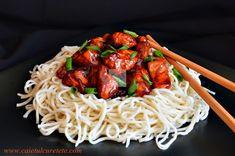 Pui Teryiaki - CAIETUL CU RETETE Carne, Spaghetti, Ethnic Recipes, Food, Essen, Meals, Yemek, Noodle, Eten