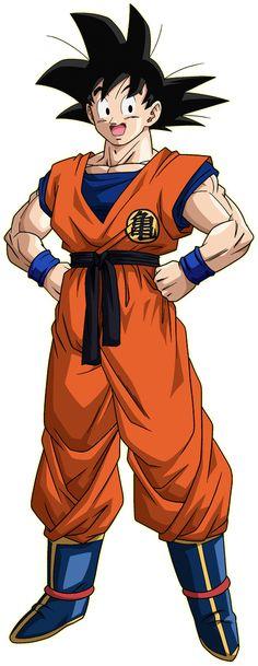 Goku Saiyan Saga render 1 - Xkeeperz by Maxiuchiha22 on DeviantArt