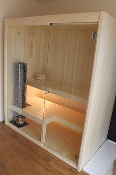 Sauna finlandese compatta