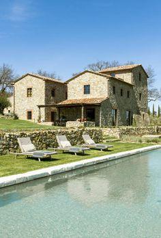 Toscane : Maisons méditerranéennes par dmesure