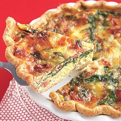 Cheap, healthy recipes: Ham, Swiss and Spinach Quiche < Delicious Pork Breakfast Dishes - AllYou.com