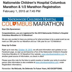 "zitaspo: ""It all comes down to this. #CMnation #ColumbusMarathon"" Wadsworth, OH"