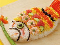 こどもの日 レシピ - Google 検索 Boys Day, Child Day, Cute Food, Good Food, Japanese Rice, Bento Box, Food For Thought, Fish Recipes, Food Art
