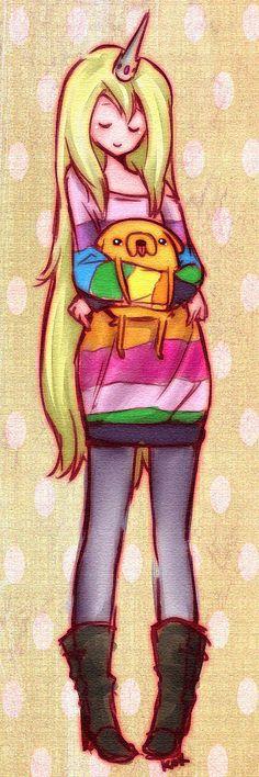 Human Lady Rainicorn