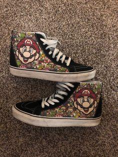b3a630347bc063 Vans Nintendo Super Mario Bros High US Size 11 Men. Nellie Newton · Unisex  Adult Shoes