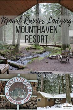 Mounthaven Resort---located in Ashford, Washington, just half a mile from Mount Rainier's Nisqually (south) entrance | Wildtalesof.com