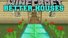 Minecraft: BETTER HOUSES (SECRET ROOMS, ANIMATED DOOR, BLOCK MIXER) Mod Showcase