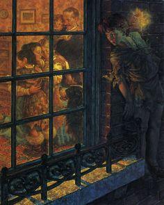 Resultado de imagen de Peter Pan scott gustafson