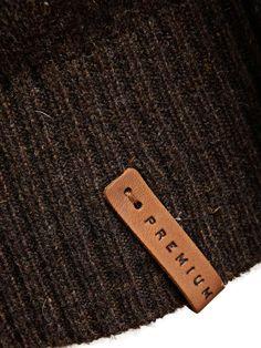 Premium Wool Cardigan, Coffee Bean, large