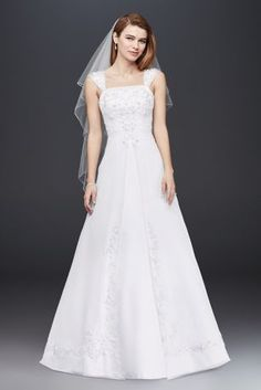 Searching for discount wedding dresses? Browse David's Bridal wedding dresses for sale, including discount plus size & designer wedding dresses online now! Bridal Wedding Dresses, Wedding Dress Styles, Davids Bridal Gowns, Tulle Wedding, Formal Wedding, Mermaid Wedding, Wedding Bride, Bridesmaid Dresses, Prom Dresses