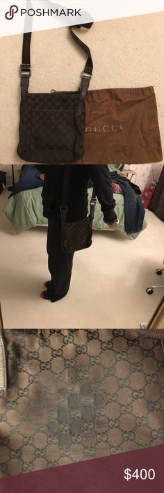 Needs to go ASAP Gucci crossbody Gucci crossbody  Some wearing area on back as shown in pic but still great to use part of earnings will be donated to unicef Gucci Bags Crossbody Bags