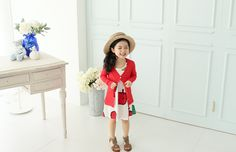 Korea childrens No.1 Shopping Mall. EASY & LOVELY STYLE [COOKIE HOUSE]  #koreakidsfashion #kidsfashion #kidslooks #kidsclothes #goodquality #goodfabric #cute #pretty #kidOOTD #OOTD #COOKIEHOUSE    #outer #cardigan #colorful #summer  Beachwear edge cool and let cool in-  Cardigan and supple material proper captain! ♥ coordinate with versatile items everywhere!  (5 color / 5 ~ 17 to No.)   Class Cardigan / Size : S, M, L, XL / Price : 13.86 USD