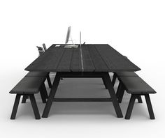 'BuzziPicnic' table by Alain Gilles for Buzzispace