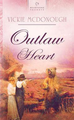 Vickie McDonough - Outlaw Heart / #awordfromJoJo #Cleanromance #Christianfiction #VickieMcDonough