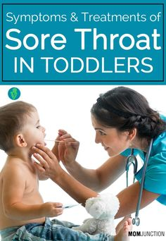 Does your toddler find it difficult to swallow? Well, he may be suffering from a sore throat. Read 8 symptoms & 4 treatments to cure sore throat in toddlers Toddler Sore Throat Remedies, Remedies For Swollen Tonsils, Strep Throat Remedies, Cough Remedies For Kids, Fever And Sore Throat, Sore Throat Relief, Sooth Sore Throat, Doterra Sore Throat, Treatment For Sore Throat