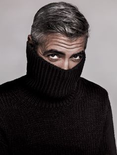 George Clooney. Because he is our generation's Cary Grant AND a social justice crusader/peace activist.