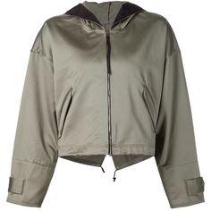 Rag & Bone cropped 'Randi' jacket ($410) ❤ liked on Polyvore