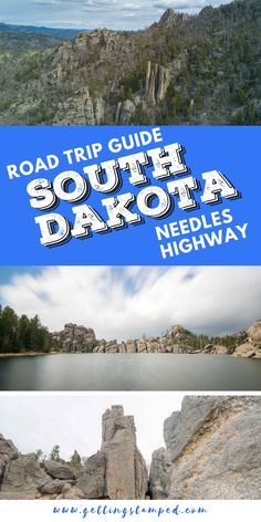 The ultimate road trip down Needles Highway, South Dakota. Custer State Park in the Black Hills outside of Rapid City and Mount Rushmore. Adventure is not hard to find here with hiking, kayaking, horseback riding, and jeep safaris. Travel in the USA. South Dakota Vacation, South Dakota Travel, North Dakota, Us Road Trip, Road Trip Hacks, Needles Highway, Monument Valley, Grand Canyon, Custer State Park