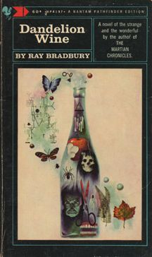 Cover of the book when I first read it in Still one of my favorites. Ray Bradbury and producer Mike Medavoy (Black Swan) are making the book into a movie. Dandelion Wine Ray Bradbury, Ray Bradbury Books, Best Book Covers, Cool Books, Images Google, The Martian, Book Authors, Vintage Books, Vintage Art
