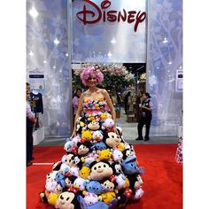 SPOTTED: Stack is the new black #TsumTsumDress #DisneyStore #DisneyStyle #D23EXPO