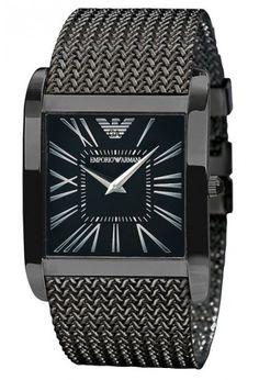 03b369657cef Emporio Armani Damen   Herren Uhr AR2028 BLACK Super Slim Relojes Armani