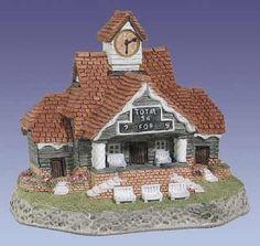 David Winter Cottages The Pavilion, 1988 Collector's Guild Pieces