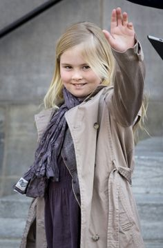 Crown Princess Amalia of the Netherlands