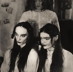 A series expressing the end of an era of my time in the North Gothic Art, Gothic Girls, Sad Girl Art, Season Of The Witch, Looks Cool, Film Photography, Dark Art, Old Photos, Creepy