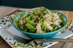 Three Lucky Husbands » Slow Cooker Cheesy Chicken and Broccoli