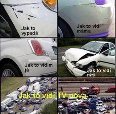 Jak to kdo vidí Good Humor, Good Jokes, Funny Jokes, Funny Images, Funny Pictures, Jokes Quotes, Memes, English Jokes, Medical Humor