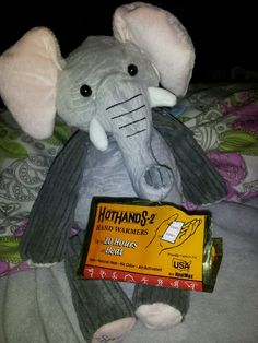Create a huggable heating pack for you child using a Scentsy Buddy! Great for little ones in cold weather or if they're feeling a little sick. Throw 2 hand warmers into the back pouch and voila!