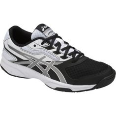 on sale 5c09f 28367 Asics Womens Gel-Upcourt 2 Volleyball Shoe (BlackSilverWhite)