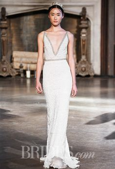 Brides.com: . Wedding dress by Inbal Dror