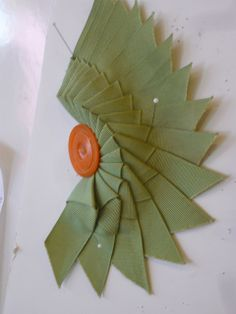 Cockade - Candace Kling #millinery #judithm #ribbonwork