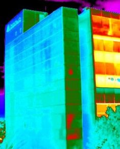 Commercial building inspections with infrared scans allow companies to see what's really going on with their buildings structural integrity.