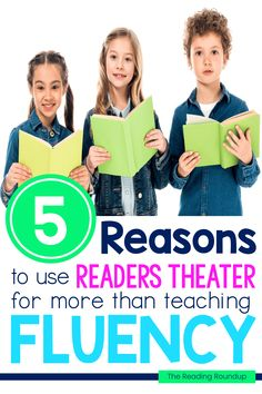 Readers Theater is an extremely effective and engaging strategy for fluency practice. It allows elementary students to practice reading fluently and expressively in an authentic manner. But did you realize you can also use it to work on vocabulary, comprehension, and writing skills? Read these 5 simple Readers Theater ideas for more than just fluency practice with your guided reading groups. The best part is how engaging and fun they are for kids! #thereadingroundup #fluency #readerstheater Guided Reading Activities, Fluency Activities, Vocabulary Activities, Reading Fluency, Reading Resources, Teaching Reading, Reading Groups, Vocabulary Instruction, Fluency Practice