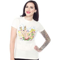 ATOMIC SWAG COWGIRL TEE $26.00 #atomicswag #vintage #vintagereproduction #pinup #rockabilly
