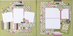 Happy Go Lucky Two Page Layout Kit