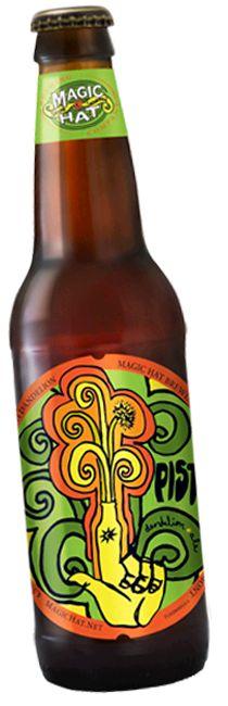 Pistil from Magic Hat is a 4.5 ABV 20 IBU Herbed/Spiced beer brewed with dandelion petals.
