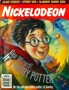 "13 Things J.K. Rowling Told ""Nickelodeon Magazine"" In 1999"