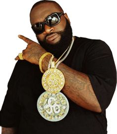 """Rick Ross    The boss, had created with his label Maybach Music. Releasing new album """"God forgives and I don't this Summer. @Power106LA"""