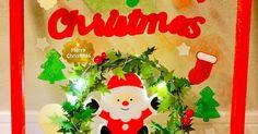 100均フレームにジェルシールを塗って、貼るだけ簡単クリスマスDIYです。 とっても簡単で100均材料だけで出来ちゃうので、是非お子さんと楽しいクリスマス飾りを作ってみて下さい。 濃い色のジェルシールは、直接窓に貼るのはちょっと心配って方にも、100均フレームを使って頂くと軽い気持でチャレンジして頂けます。 とっても色鮮やかなジェルシールに合わせて、フレームも色を塗って、光るステンドグラスのイメージですが、不器用さんや初心者さんでもグッズを上手に使えば、あっという間に出来ちゃいます。 今回は立て掛けて使用する形になっていますが、裏面に吊金具を付ければ、壁掛けにもして頂けます。 クリスマスのツリーが出せないって時にも、短時間で楽しめるアイデアですので、是非お試し下さい。 安い材料でも華やかにっという方にお勧めです!! Merry Christmas, Christmas Ornaments, Advent Calendar, Holiday Decor, Merry Little Christmas, Happy Merry Christmas, Wish You Merry Christmas, Christmas Ornament, Christmas Topiary