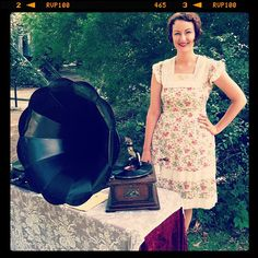 Austin Phonograph Company  Phonograph DJ on antique turn tables  http://austinphonographcompany.com/
